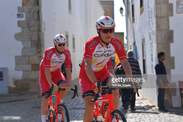 Start / Mathias Le Turnier of France and Team Cofidis, Solutions Crédits / Faro Village / during the 46th Volta ao Algarve 2020, Stage 3 a 201,9Km...