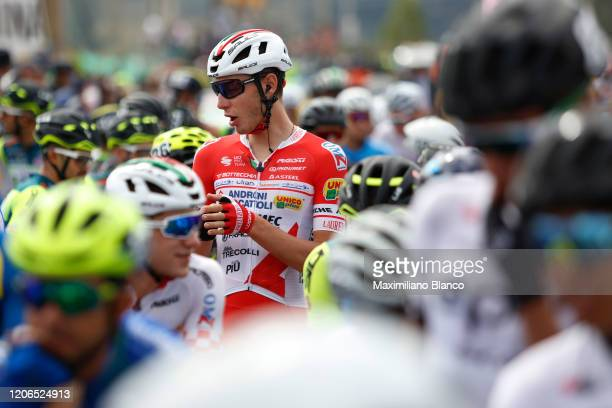 Start / Matteo Spreafico of Italy and Team Androni Giocattoli - Sidermec / during the 3rd Tour of Colombia 2020, Stage 5 a 180,5km stage from Paipa...