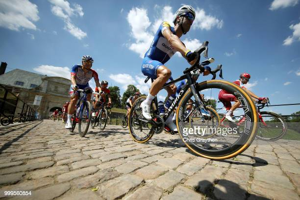 Start / Maximiliano Ariel Richeze of Argentinia and Team QuickStep Floors / Cobbles / Pave / during the 105th Tour de France 2018 Stage 9 a 1565...