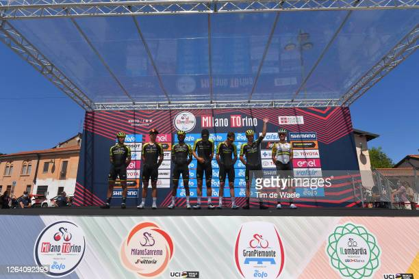 Start / Michael Albasini of Switzerland, Alexander Edmondson of Australia, Tsgabu Gebremaryam Grmay of Ethiopia, Alexander Konychev of Italy, Cameron...