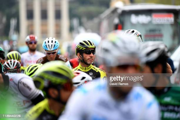 Start / Michael Albasini of Switzerland and Team Mitchelton Scott / during the 99th Volta Ciclista a Catalunya 2019 Stage 7 a 1431km stage from...