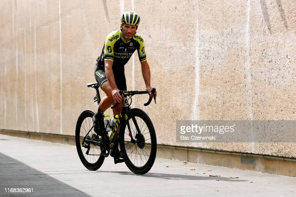 Start / Michael Albasini of Switzerland and Team MitcheltonScott / during the 15th Binck Bank Tour 2019 Stage 5 a 1914km stage from Riemst to Venray...