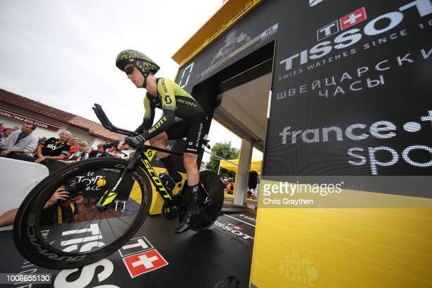 Start / Michael Hepburn of Australia and Team Mitchelton-Scott / during the 105th Tour de France 2018, Stage 20 a 31km Individual Time Trial stage...