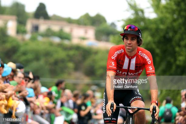 Start / Michael Matthews of Australia and Team Sunweb / Public / Fans / Limoux City / during the 106th Tour de France 2019 Stage 15 a 185 km stage...