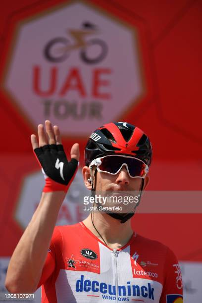 Start / Michael Morkov of Denmark and Team Deceuninck - Quick - Step / during the 6th UAE Tour 2020, Stage 1 a 148km stage from Dubai - The Pointe to...