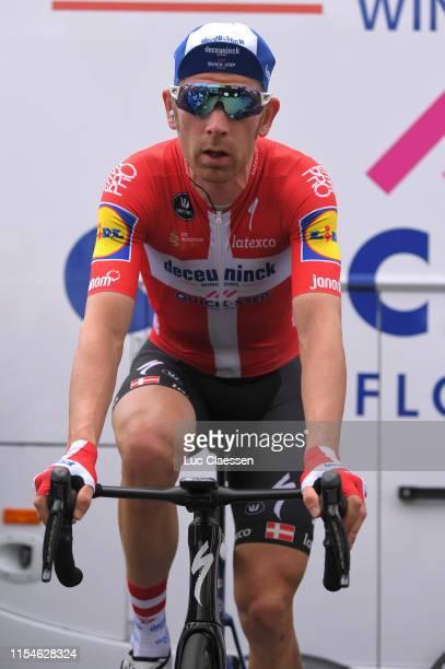 Start / Michael Morkov of Denmark and Team Deceuninck - Quick Step / Warm-up / during the 4th Velon Hammer Limburg Series 2019, Hammer Sprint a...