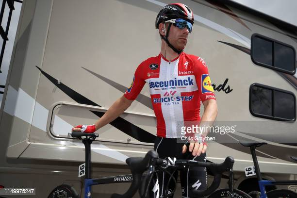 Start / Michael Morkov of Denmark and Team Deceuninck QuickStep / during the 14th Amgen Tour of California 2019 Stage 6 a 1275km stage from Ontario...