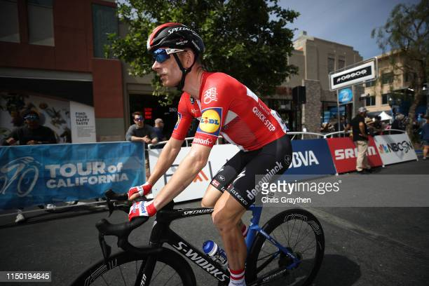 Start / Michael Morkov of Denmark and Team Deceuninck QuickStep / during the 14th Amgen Tour of California 2019 Stage 7 a 126km stage from Santa...