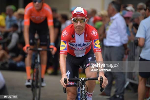 Start / Michael Morkov of Denmark and Team Deceuninck - Quick-Step / Saint-Jean-de-Maurienne Village / during the 106th Tour de France 2019, Stage 19...
