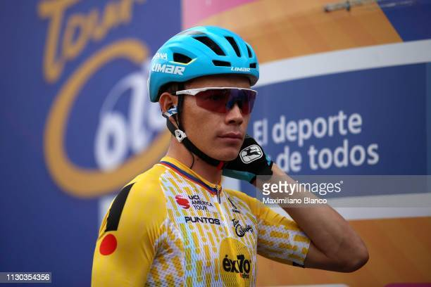 Start / Miguel Ángel López of Colombia and Astana Pro Team Yellow Points Jersey / during the 2nd Tour of Colombia 2019 Stage 6 a 1738km stage from El...