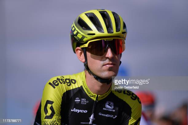 Start / Mikel Nieve Ituralde of Spain and Team Mitchelton-Scott / Aranda de Duero City / during the 74th Tour of Spain 2019, Stage 17 a 219,6km stage...