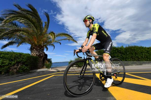 Start / Mikel Nieve of Spain and Team Mitchelton - Scott / during the 102nd Giro d'Italia 2019, Stage 4 a 235km stage from Orbetello to Frascati 319m...