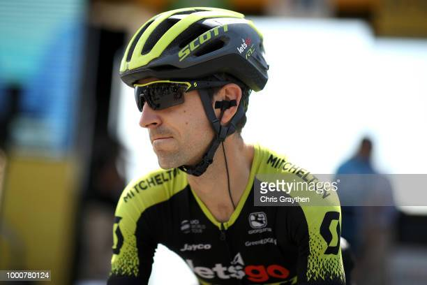 Start / Mikel Nieve of Spain and Team MitcheltonScott / during the 105th Tour de France 2018 / Stage 10 a 1585km stage from Annecy to Le GrandBornand...