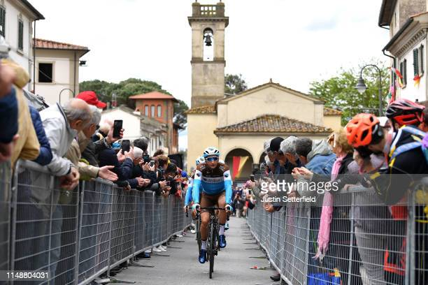 Start / Nans Peters of France and Team AG2R La Mondiale / during the 102nd Giro d'Italia 2019 Stage 3 a 220km stage from Vinci to Orbetello / Tour of...