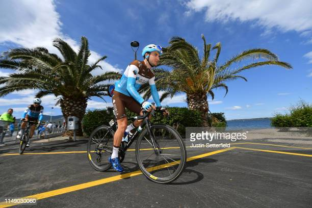 Start / Nans Peters of France and Team AG2R La Mondiale / during the 102nd Giro d'Italia 2019, Stage 4 a 235km stage from Orbetello to Frascati 319m...