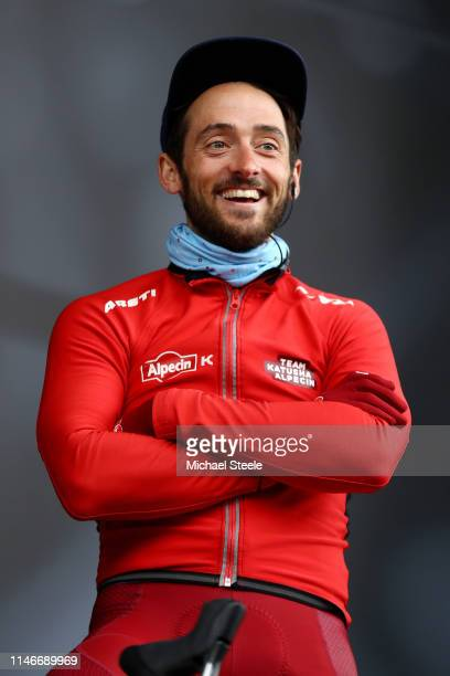 Start / Nathan Haas of Australia and Team Katusha Alpecin / Team Presentation / during the 5th Tour of Yorkshire 2019, Stage 2 a 132km stage from...