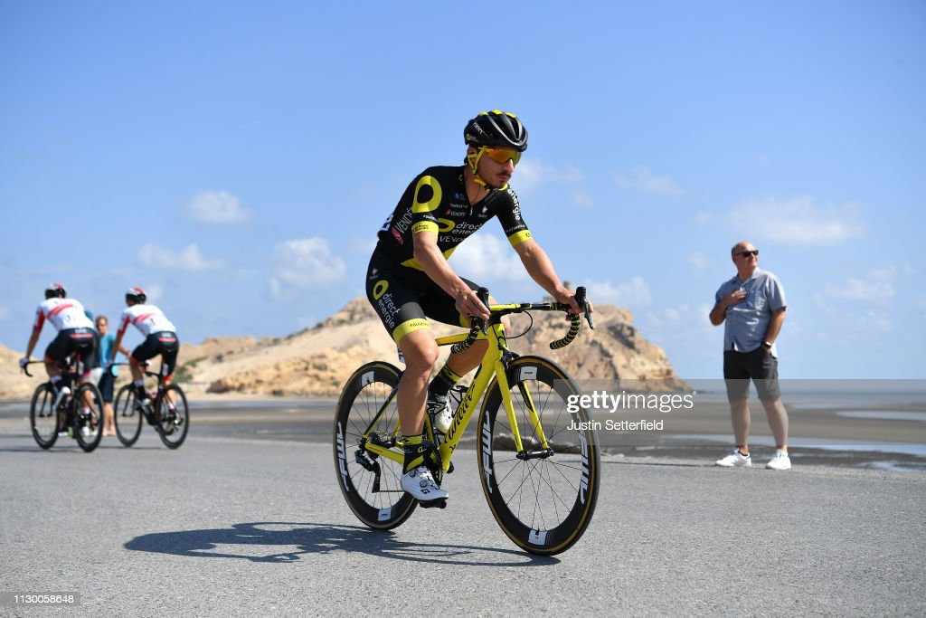 8b514d9ad Start   Niccolo Bonifazio of Italy and Team Direct Energie   during ...