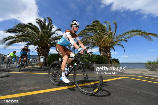 Start / Nico Denz of Germany and Team AG2R La Mondiale / during the 102nd Giro d'Italia 2019, Stage 4 a 235km stage from Orbetello to Frascati 319m /...