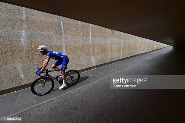 Start / Niki Terpstra of Netherlands and Team Quick Step Floors / during the 14th BinckBank Tour 2018, Stage 6 a 182,2km stage from Riemst to...