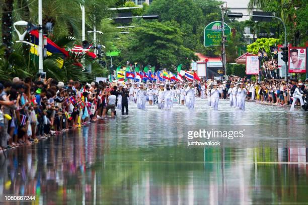 Start of Asean fleet parade in Pattaya