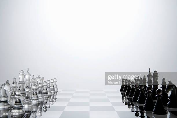 Start of chess game