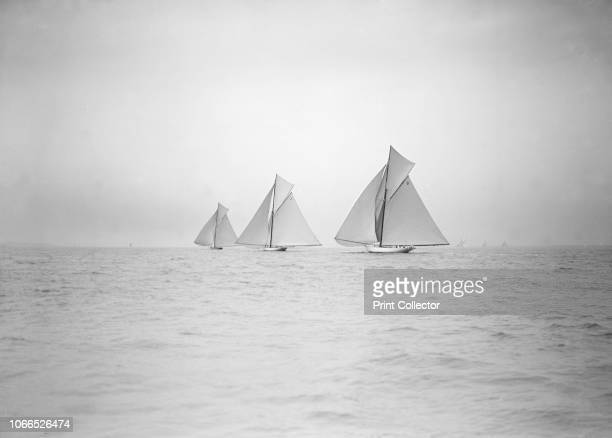 Start of Cowes to Weymouth Race August 1911