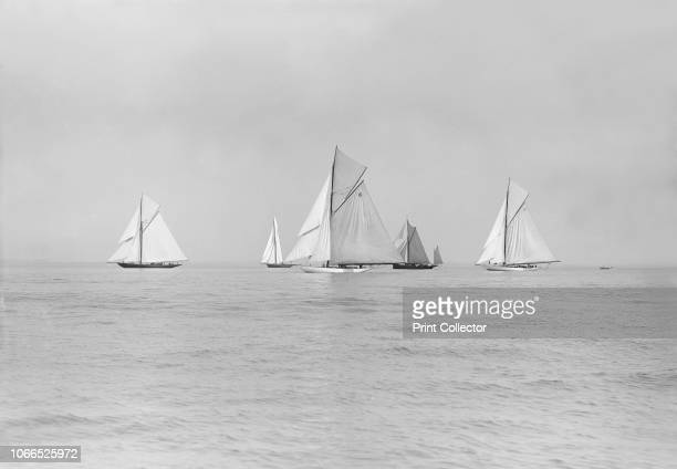 Start of Cowes to Weymouth Race August 1913
