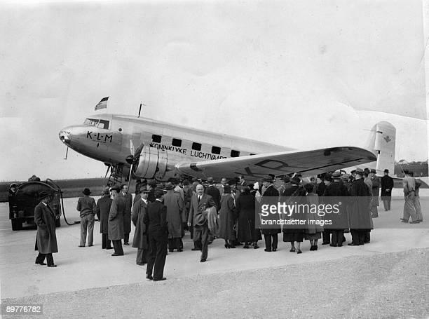 Start of the Blue Danube Express in ViennaAspern Photograph Around 1935