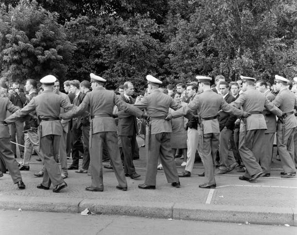 DEU: 13th August 1961 - East Germany Closes The Border Between East And West Berlin