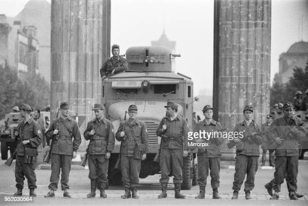Start of the construction of the Berlin Wall At midnight on 13th August the police and units of the East German army began to close the border and by...