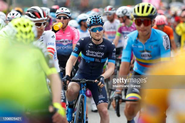 Start / Oliver Behringer of Switzerland and Team Novo Nordisk / during the 3rd Tour of Colombia 2020, Stage 5 a 180,5km stage from Paipa to Zipaquirá...