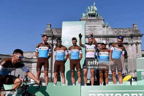 Start / Oliver Naesen of Belgium / Rudy Barbier of France / Gediminas Bagdonas of Lituania / Nico Denz of Germany / Silvan Dillier of Switzerland /...