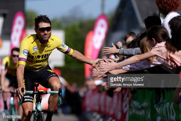Start / Paul Martens of Germany and Team Jumbo-Visma / Public / Fans / during the 83rd La Fleche Wallonne 2019 a 195,5km race from Ans to Mur de Huy...