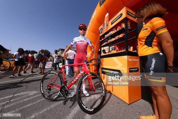 Start / Pavel Kochetkov of Russia and Team Katusha Alpecin / during the 73rd Tour of Spain 2018, Stage 7 a 185,7km stage from Puerto-Lumbreras to...