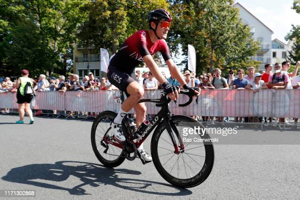 Start / Pavel Sivakov of Russia and Team INEOS / during the 34th Deutschland Tour 2019, Stage 3 a 189km stage from Göttingen to Eisenach / @DeineTour...