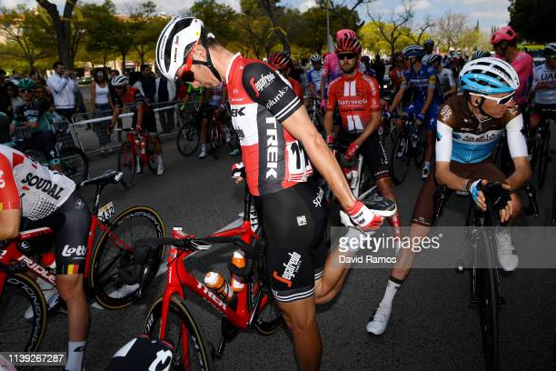 Start / Peter Stetina of The United States and Team Trek Segafredo / Romain Bardet of France and Team AG2R La Mondiale / during the 99th Volta...