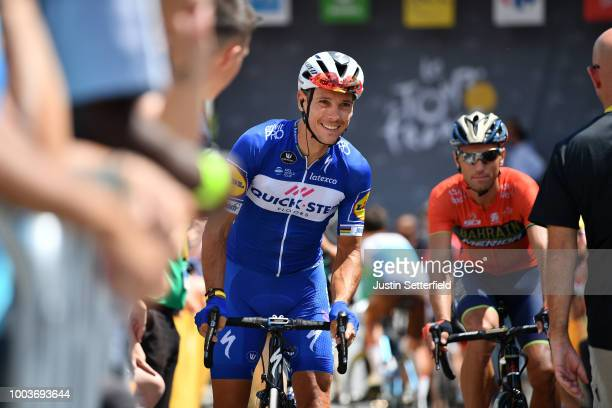 Start / Philippe Gilbert of Belgium and Team QuickStep Floors / during the 105th Tour de France 2018 Stage 15 a 1815km stage from Millau to...