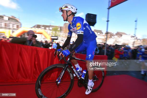 Start / Philippe Gilbert of Belgium and Team QuickStep Floors / during the 53rd Amstel Gold Race 2018 a 263km race from Maastricht to Berg en...