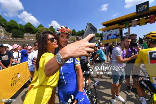 Start / Philippe Gilbert of Belgium and Team QuickStep Floors / Fans / Public / during 105th Tour de France 2018 Stage 6 a 181km stage from Brest to...