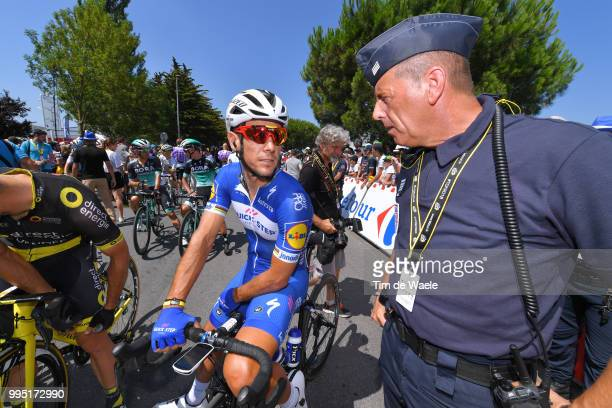 Start / Philippe Gilbert of Belgium and Team Quick-Step Floors / Police / during the 105th Tour de France 2018, Stage 4 a 195km stage from La Baule...