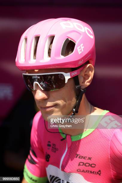 Start / Pierre Rolland of France and Team EF Education First Drapac P/B Cannondale / during the 105th Tour de France 2018 Stage 9 a 1565 stage from...
