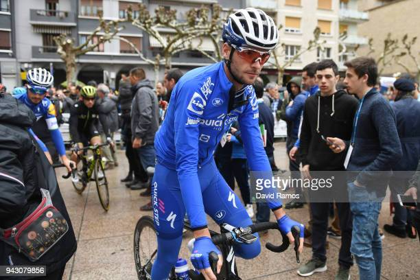 Start / Pieter Serry of Belgium and Team QuickStep Floors / Fans / Public / during the 58th Vuelta Pais Vasco 2018 Stage 6 a 1222km stage from Eibar...