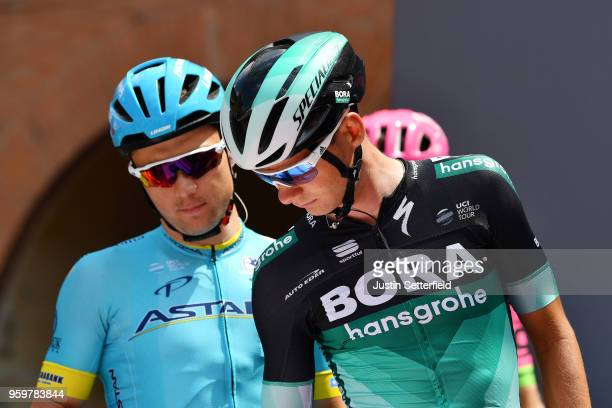 Start / Podium / Christoph Pfingsten of Germany and Team Bora-Hansgrohe / during the 101st Tour of Italy 2018, Stage 13 a 180km stage from Ferrara to...