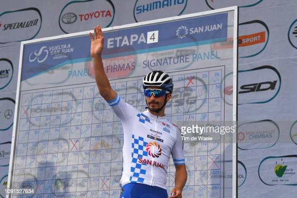 Start / Podium / Julian Alaphilippe of France and Deceuninck QuickStep Team White Leader Jersey / during the 37th Tour of San Juan 2019 Stage 4 a...