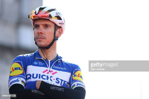 Start / Podium / Philippe Gilbert of Belgium and Team Quick-Step Floors / during the 53rd Amstel Gold Race 2018 a 263km race from Maastricht to Berg...