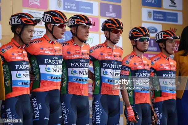 Start / Podium / Ruben Dario Acosta of Colombia and Team Nippo Vini Fantini Faizan / Masakazu Ito of Japan and Team Nippo Vini Fantini Faizan /...