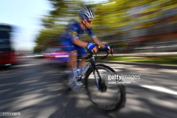 Start / Remi Cavagna of France and Team Deceuninck-QuickStep / Onda City / during the 74th Tour of Spain 2019, Stage 7 a 179,1km stage from Onda to...
