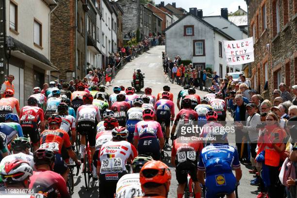 Start / Remy Mertz of Belgium and Team Lotto Soudal / Sacha Modolo of Italy and Team EF Education First / Grega Bole of Slovenia and Team...