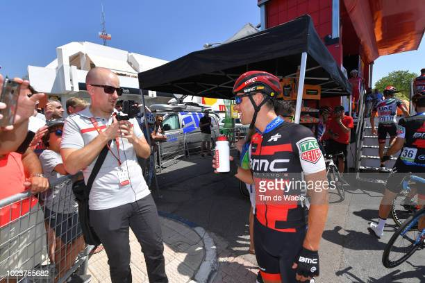 Start / Richie Porte of Australia and BMC Racing Team / during the 73rd Tour of Spain 2018 Stage 2 a 1635km stage from Marbella to Caminito Del Rey...