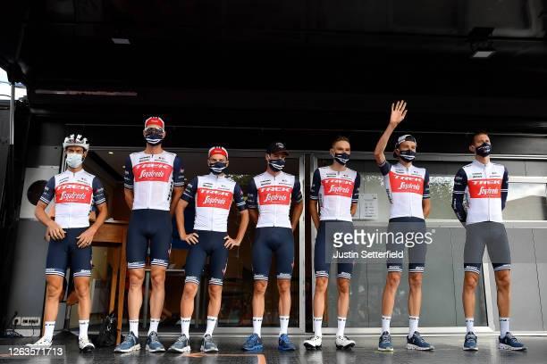 Start / Richie Porte of Australia, Julien Bernard of France, William Clarke of Australia, Niklas Eg of Denmark, Kenny Elissonde of France, Bauke...